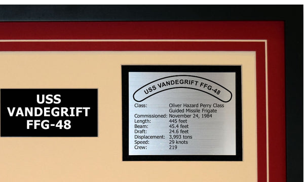 USS VANDEGRIFT FFG-48 Detailed Image B