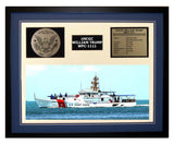 USCGC William Trump WPC-1111 Framed Coast Guard Ship Display Blue