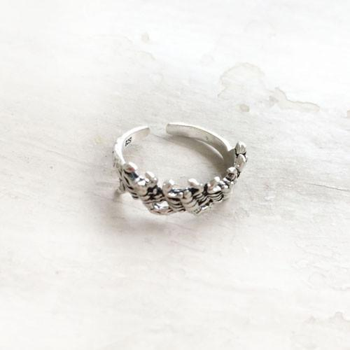 SCORPION SILVER TOE RING - SILBERUH