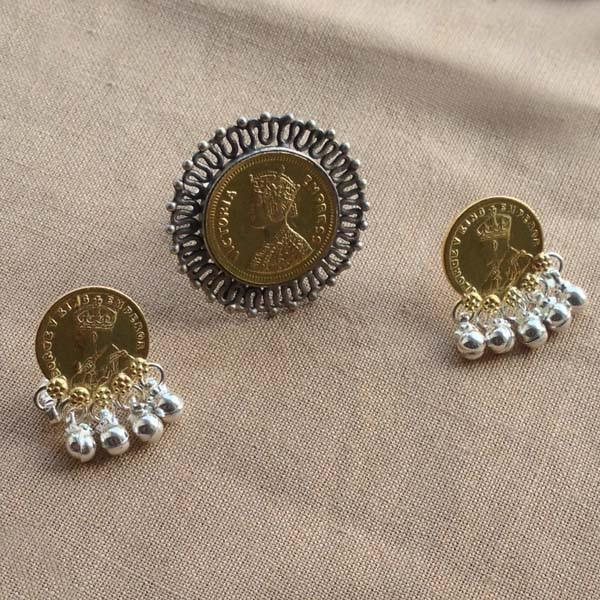 VICTORIA EMPRESS RING & EARRING - SILBERUH