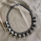 TRIBAL BALL NECKLACE - SILBERUH