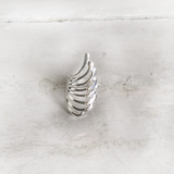 BUTTERFLY WING SILVER RING - SILBERUH