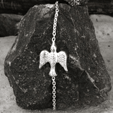 THE VIRTUOUS DOVE SILVER BRACELET - SILBERUH
