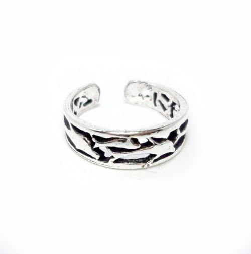 DOLPHIN SILVER TOE RING - SILBERUH