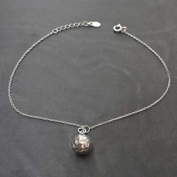 SILVER BALL ANKLET - SILBERUH