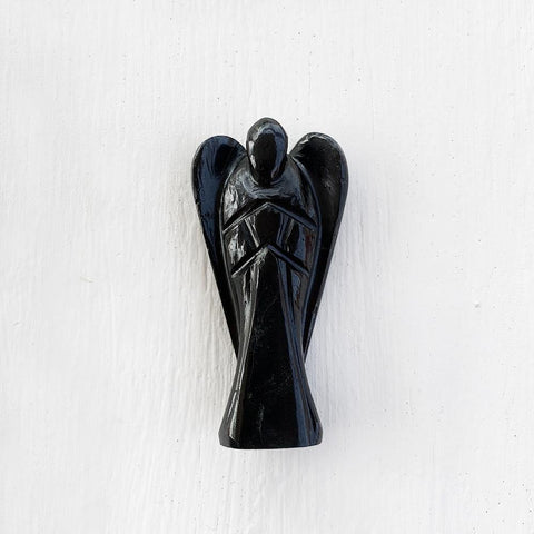 BLACK AGATE ANGEL