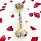 DALMATION JASPER FACE MASSAGE ROLLER
