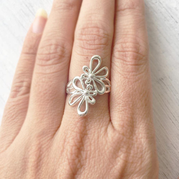 PHOOL SILVER RING - SILBERUH