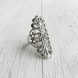 SILVER FILIGREE RING - SILBERUH