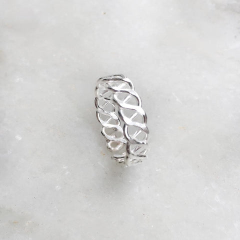 CELTIC KNOT SILVER TOE RING - SILBERUH