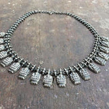 LAKSHMI SILVER NECKLACE