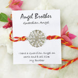 ANGEL BROTHER SILVER RAKHI - SILBERUH