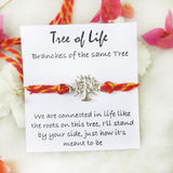 TREE OF LIFE SILVER RAKHI - SILBERUH
