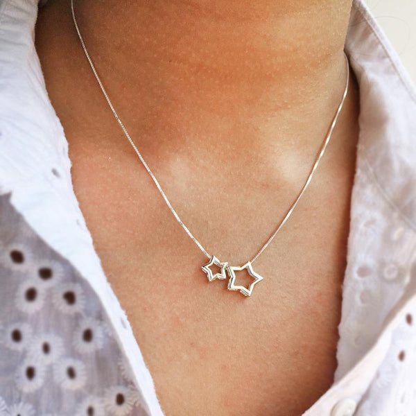 MY SHINING STAR SILVER NECKLACE - SILBERUH