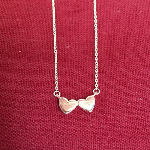 HEART SILVER NECKLACE - SILBERUH