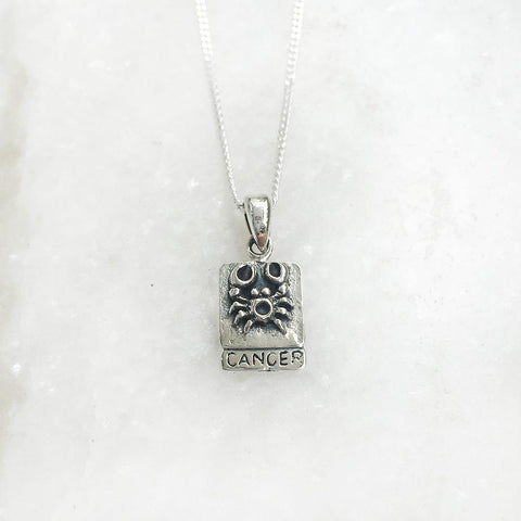CANCER SILVER PENDANT - SILBERUH