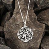 TREE OF LIFE PENDANT - SILBERUH