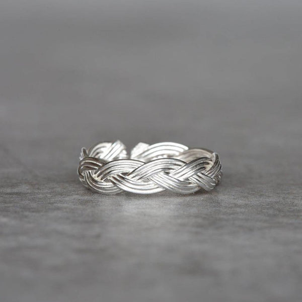 SILVER KNOT TOE RING - SILBERUH