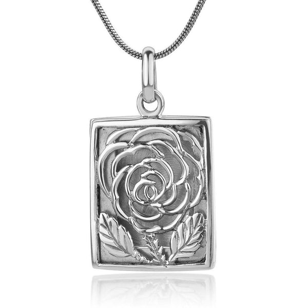 ROSE SILVER LOCKET PENDANT - SILBERUH