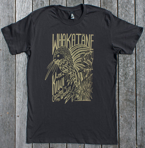 Whakatane Kiwi Tee $5 of every sale goes to the Whakatane Kiwi Trust!