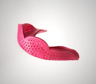 Sisu Mouth Guard 2.4 Max Hot Pink 1pk