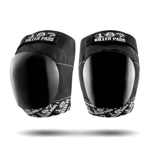 187 Pro Knee Pads Black/White Strap