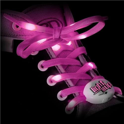 RDS - Lighted Laces Pink 72 inch