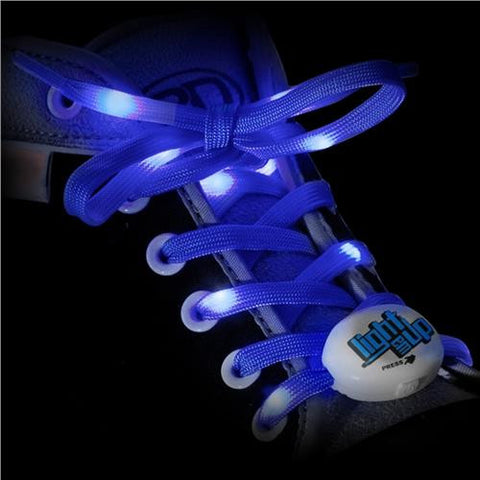 RDS Lighted Laces Blue 72 inch