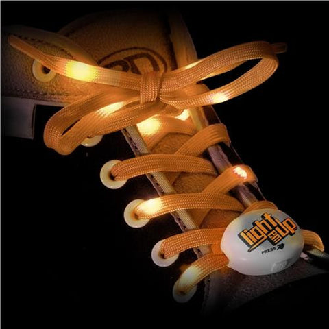 RDS Lighted Laces Orange 72 inch