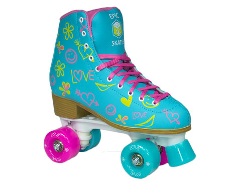 Epic Splash Blur Roller Skate