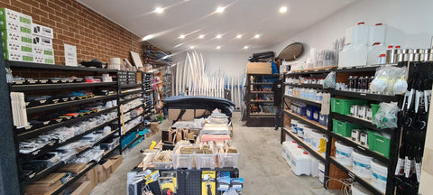 Sanded Australia Surfboard Material Supply Shop LONG JETTY NSW