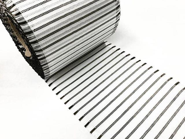 "6"" Carbon Stripe Patch"
