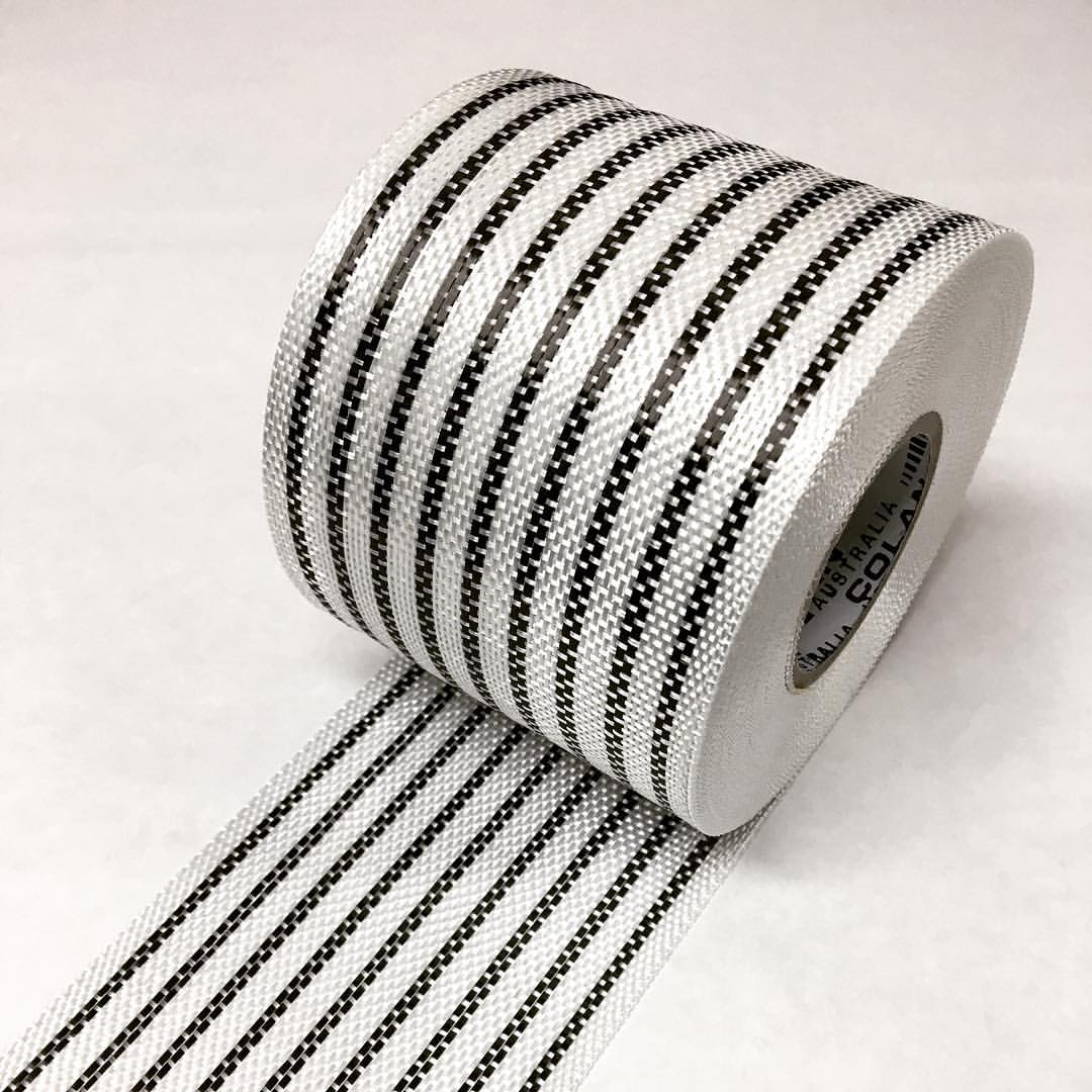 9 Strand (Extra Wide 100mm) Carbon Tape
