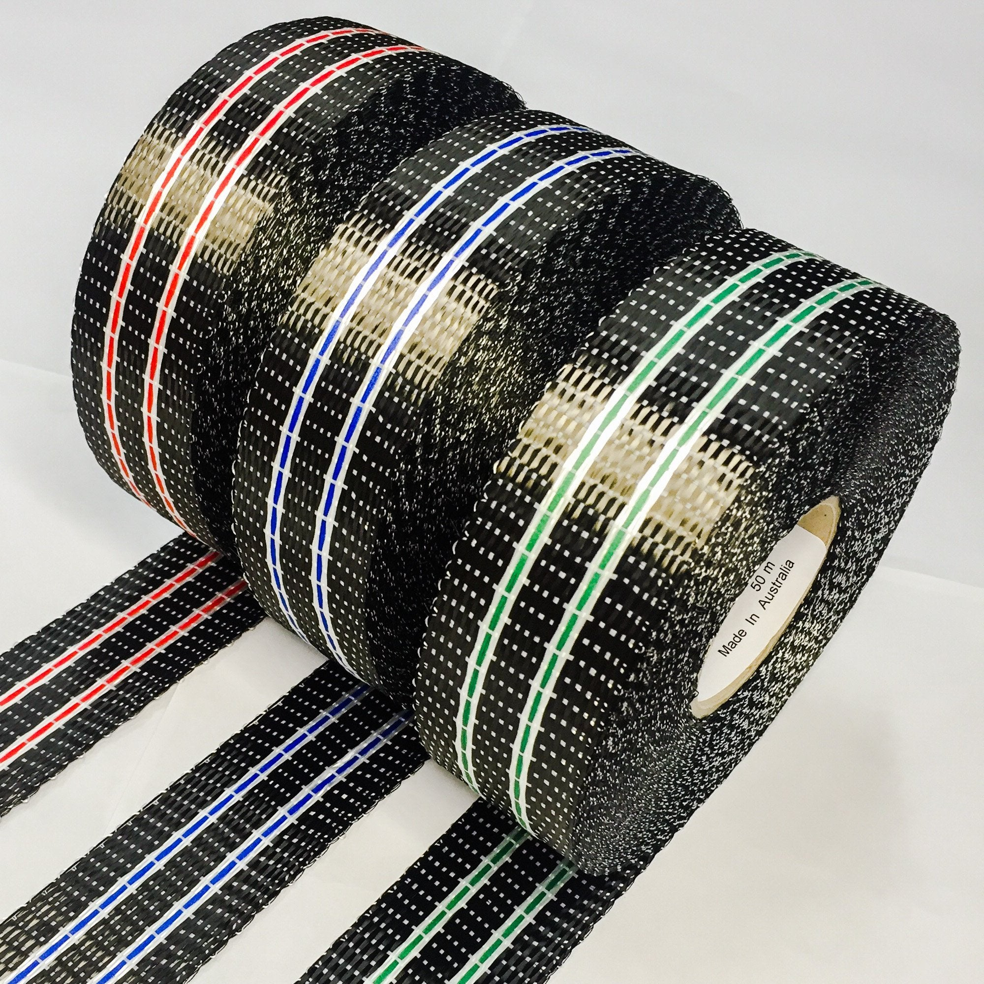 Carbon Uni 40mm 2 Stripe Tape