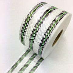 3 Band Carbon Rail Tape with Green insert