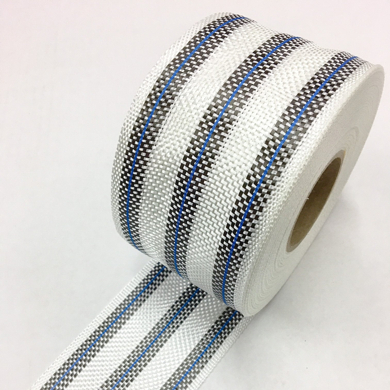 3 Band Carbon Rail Tape with Blue Fluro insert