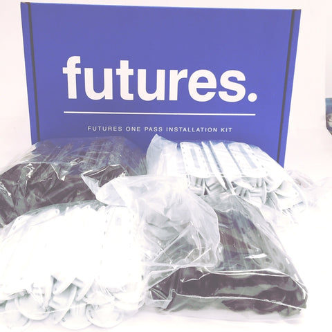 "30 Futures Thruster Box Set Deal - Get A Futures Install ""One Pass"" Kit  for Free!!"