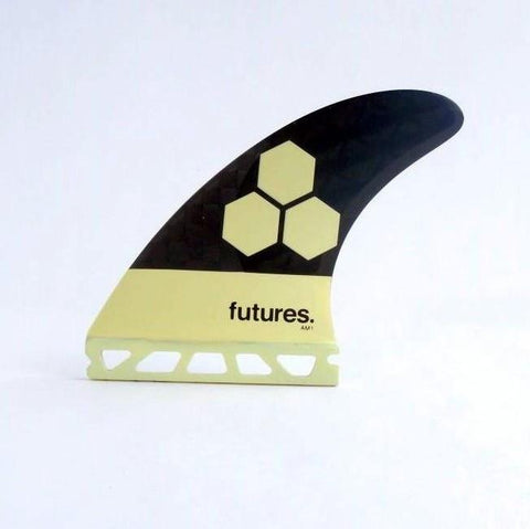 Futures Fins - Blackstick AM1 ~ Thruster Set - FREE SHIPPING Australia wide