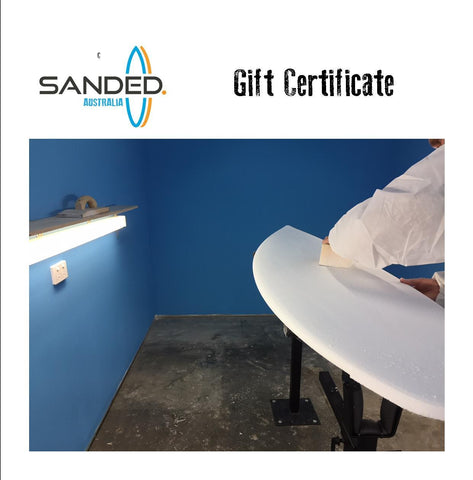 Gift Certificate Bay Hire and Materials starting from $500