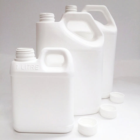 Resin bottles with lid