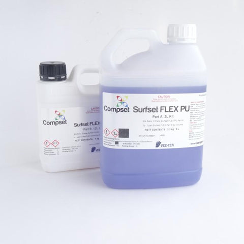 Surfset FLEX ~ PU Look Epoxy Resin - 3 Litres