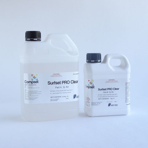 Surfset PRO ~ Clear - 3L Kit