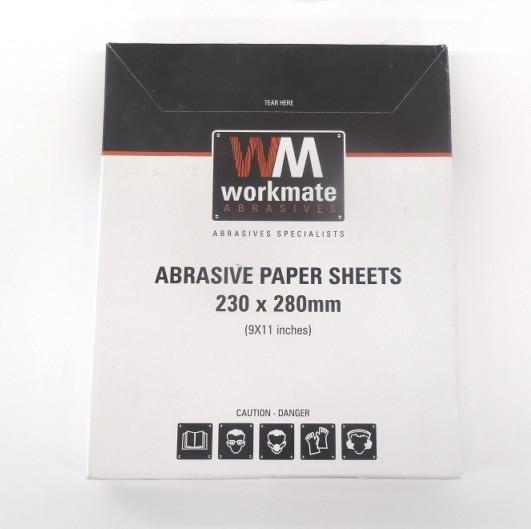 WorkMate Abrasive Sanding Sheets ~ Wet & Dry