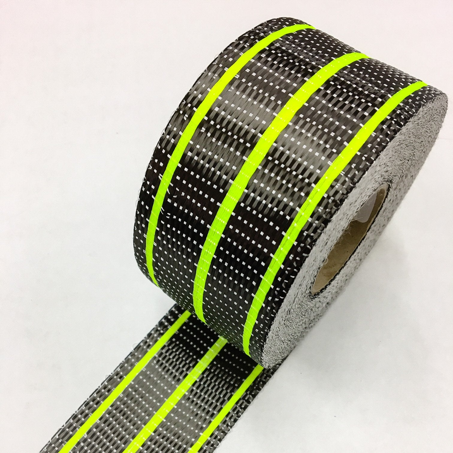 Carbon Uni 3 Stripe Rail Tape in Clear or Fluro Colours