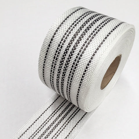 Carbon Glass Rail Tape Centre Stripe or Rail Stripe