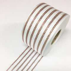 6 Stripe Neon Coloured Poly Carbon Rail Tape- select Colour