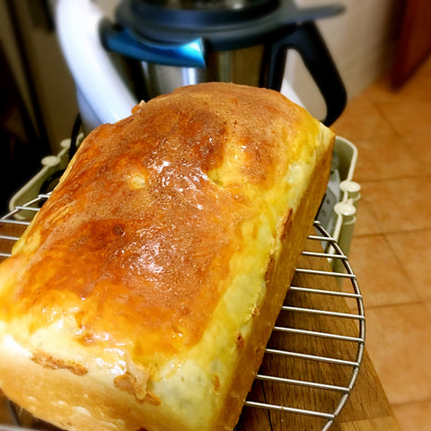 Easy Maple Brioche Toast using the Thermomix