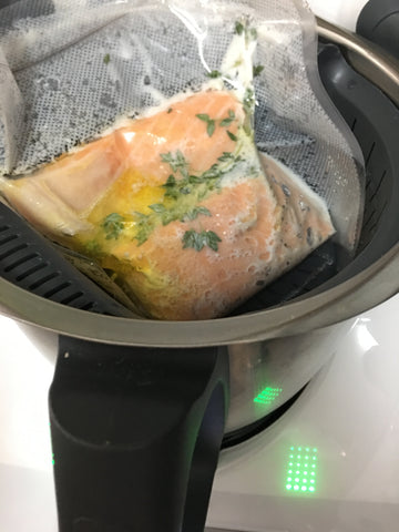 Thermomix sous vide salmon1