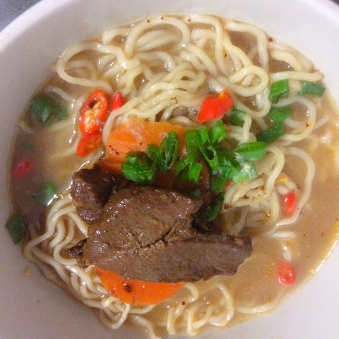 Homecooked ramen