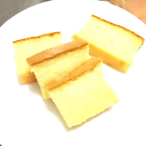 How to make Castella cake (egg chiffon sponge cake) using Thermomix by Chefanddivine.com